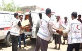 الهلال الإماراتي يدشن حملة مكافحة الكوليرا في تعز