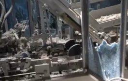 الإرياني: ميليشيات الحوثي قصفت مصنع ألبان بالحديدة