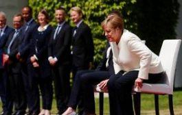 الألمان يبدون رأيهم برعشات ميركل المتكررة