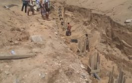 لحج : منظمة محليه تشرع في عمل حفريات لمشروع حيوي بطورالباحه