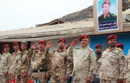 اللواء الثالث حماية رئاسية يدشن المرحلة الثانية من العام التدريبي 2019م في عدن