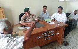 محافظ الضالع يزور مستشفى النصر ويعقد اجتماع بهيئة إدارة المستشفى