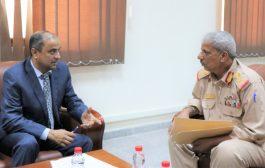 نائب وزير المالية: افتتاح جمرك جديد برأس العارة في لحج قريبا