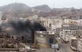 مديرالبنك الاهلي : الأضرار اقتصرت على الجانب المادي ونطمن عملاء البنك بالسيطرة على الحريق