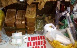 القبض على عدد من الاشخاص بحوزتهم مخدرات واسلحة