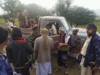 اعتقال 6 من موظفي الأشغال في مدينة التربة بتعز من قبل الاخوان
