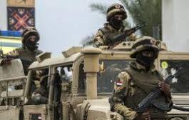"""في بيان للجيش المصري: مقتل 118 """"إرهابيّاً"""" في وسط سيناء وشمالها"""