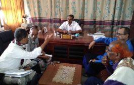 مدير تربية وتعليم لحج يلتقي رئيس انتقالي الحوطه ومدير مؤسسة التنمية المستدامة