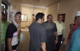 وكيل أول محافظة لحج يقوم بجولة تفقدية في المرافق الحكومية في تبن