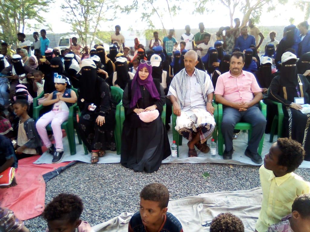 إدارة التثقيف والاعلام الصحي تنظم حفل اليوم المفتوح في مخيمات النازحين بلحج