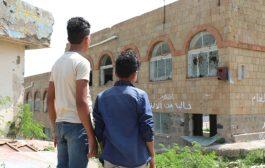 مدرسة في تعز تتحرر من ألغام الحوثي