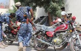إدارة أمن لحج تحظر تجوال الدراجات النارية