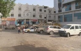 انفجار و إشتباكات بالاسلحة في محيط قصر المعاشيق بعدن