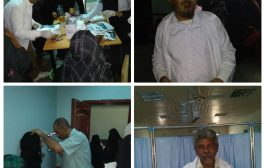 افتتاح فعاليات المخيم المجاني لعلاج العيون في مشفى الرازي