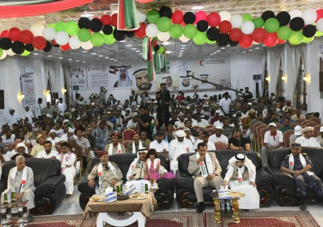 لدعم استقرار الشاب اليمني الهلال ينظم العرس الخامس في حضرموت