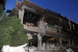 تفاصيل العدوان الاسرائيلي على مبنى مدني في دمشق