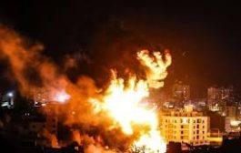 إسرائيل تكثف غاراتها على قطاع غزة..وسقوط 22 شهيدآ فلسطيني..ونتنياهو يتوعد..والجهاد يرد