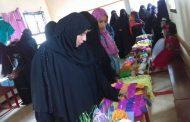 مركز التدريب النسوي بتبن يقيم معرضآ لمنتجات المتدربات في دورته الثانية