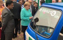 ميركل تريد إقامة مليون محطة لشحن السيارات الكهربائية في ألمانيا بحلول 2030