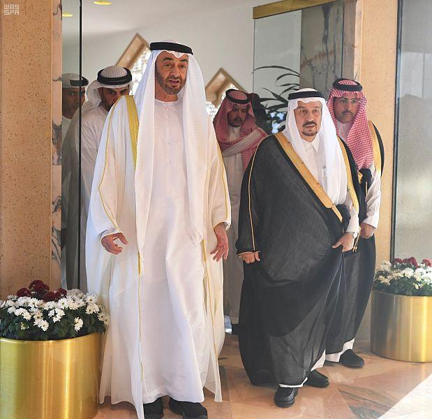 ولي عهد ابو ظبي يصل الرياض لحضور مراسيم توقيع اتفاق الرياض