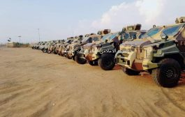 وصول دفعة من الأسلحة والعربات النوعية لجبهة الملاحيظ بصعدة