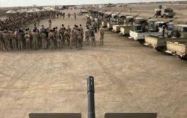 كتيبة جديدة من قوات #العمالقة تلتحق بالقوات المشتركة في #حيس
