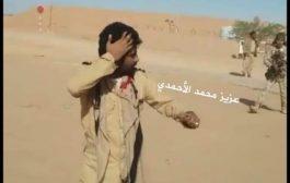 شاهد اعتداء يطال المعتصمين من حراسات الحقول النفطية بشبوة (فيديو)