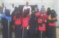 الزعوري يشيد بالفريق المدرسي لكرة الطائرة للبنات المشارك في بطولة أقليم عدن