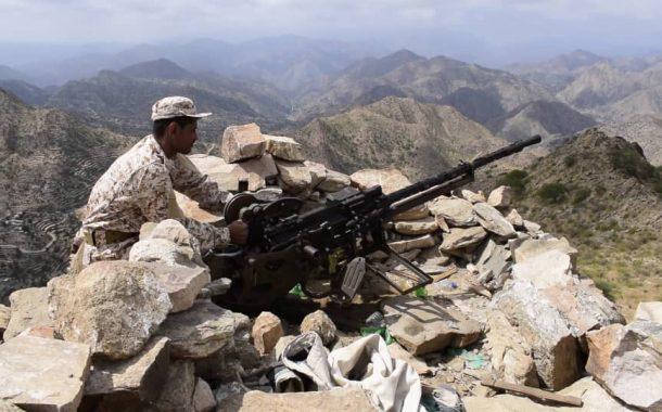 اللواء الرابع حزم يحذر برسالة شديدة اللهجة مليشيات الحوثي وكل من يريد التقدم باتجاه مناطق الصبيحة والجنوب