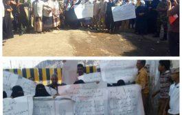 بمشاركة نسائية.. جنود يحاصرون معين عبدالملك في قصر معاشيق