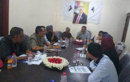 الهيئة التنفيذية لانتقالي لحج تعقد اجتماعها الدوري وتثمن نتائج لقائها بالقائد عيدروس الزبيدي