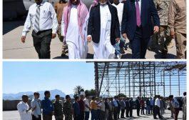 قال إن المطار ومستشفى عدن العام من أولويات مهامه :   فريق من البرنامج السعودي للتنمية وإعمار اليمن يصل مطار عدن