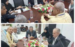 القائم بأعمال محافظ عدن يناقش تدخلات منظمة مجتمعات عالمية في المجالات الخدمية بمديرية دار سعد