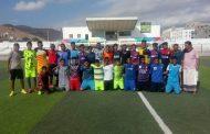 كأس الرئيس المرحلة الثانية بالمكلا منتخب ساحل حضرموت يلعب وديا مع فريق نادي أهلي الغيل