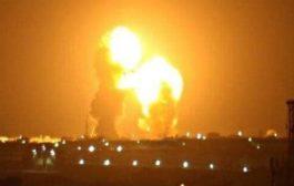 إيران تقصف قواعد امريكية بـ12 صاروخ باليستي