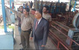 القائم بأعمال محافظ عدن يدشن إستئناف العمل في توزيع إسطوانات الغاز المنزلي