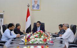 رئيس الوزراء يناقش مع رئاسة جامعة حضرموت سير العملية الاكاديمية