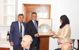 السفراء العرب في مملكة أسبانيا يقيمون حفل توديع للسفير اليمني المستقيل نبيل ميسري