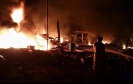 الرئيس هادي يشدد على رفع الجاهزية القتالية عقب قصف معسكر للجيش بمأرب
