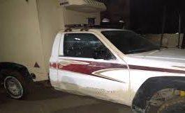قوات الدعم والإسناد بلحج تستعيد سيارة أمنية منهوبة في احداث سبتمبر الماضي