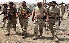بعد اشتباكات مع مسلحين قوة تابعة لالوية الدعم والاسناد تسيطر على الوضع في منطقة بئر فضل