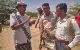 برعاية من المحافظ أبين.. اليوسفي والمرقشي يتفقدان مخيمات النازحين بعدد من مديريات المحافظة