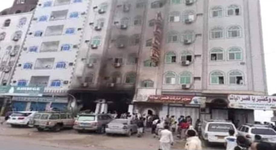 عدن : مسلحون يستهدفون فندق سياحي في عدن
