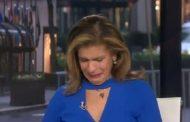 لم تتمالك نفسها.. مذيعة أمريكية تبكي على الهواء بسبب كورونا (فيديو)