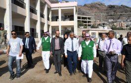 «إعمار اليمن» يُطلق مشروع بناء وتجهيز المدارس التعليمية في عدن