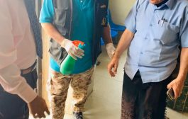 بريد الضالع يدشن الإجراءات الاحترازية من فيروس كورونا كأول مؤسسة حكومية في المحافظة