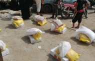 بدعم من أسمنت الوحدة صرف السلة الغذائية ل1424 أسرة في أبين