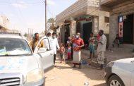 جمعية الايادي البيضاء الخيرية تنفذ حملة توعية حول كورونا بقرى شمال الحوطة