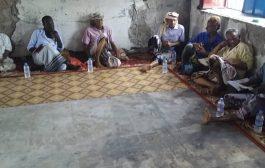 منظمة الأشتراكي في مديرية تبن الغربية تقيم نتائج ترتيب اوضاع المنظمات القاعدية