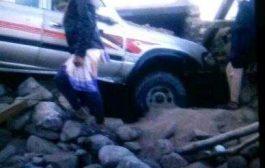 وفاة أم وطفلتها في الضالع بسبب اصطدام سيارة بمنزلهم